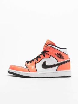 Jordan Baskets 1 Mid SE orange