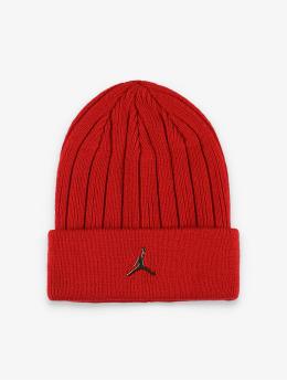 Jordan Beanie Cuffed Ingot Beanie röd