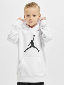 Jordan Bluzy z kapturem Jumpman Logo bialy