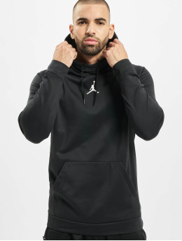 Jordan Bluzy z kapturem 23 Alpha Therma Fleece czarny