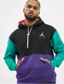 Jordan Bluzy z kapturem M J Jumpman Air Fleece czarny