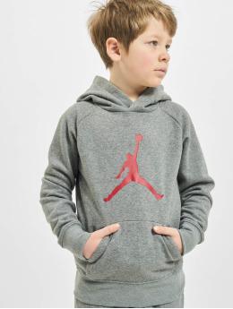Jordan Bluzy z kapturem Jumpman Logo szary