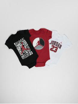 Jordan Body Jumpman 3PK Creeper czerwony