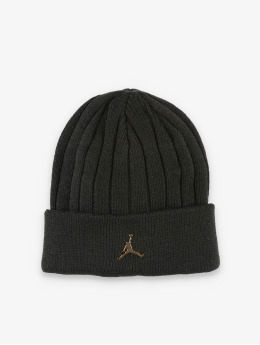 Jordan Bonnet Cuffed Ingot noir