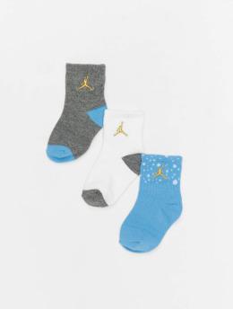 Jordan Chaussettes Cement bleu