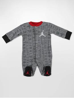 Jordan Combinaison & Combishort AOP Vertical Footed gris