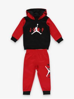 Jordan Dresy Jumpman Sideline Pullover & Jogger czerwony
