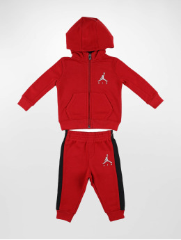 Jordan Ensemble & Survêtement Air Sueded French Terry rouge