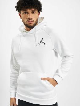 Jordan Felpa con cappuccio Jumpman Fleece  bianco