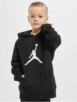 Jordan Hoodies Jdb Jumpman Logo Fleece Po sort