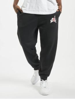Jordan joggingbroek Jumpman Classics Fleece zwart