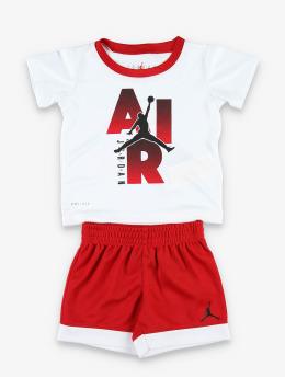 Jordan Joggingsæt MJ Iconic Logo S/S rød