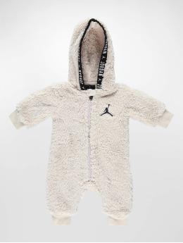 Jordan Jumpsuit Sherpa Hooded beige