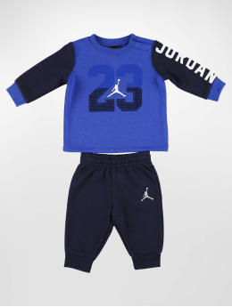 Jordan jumpsuit Multi Hit Fleece blauw