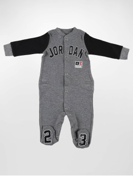 Jordan Jumpsuit Footed grau
