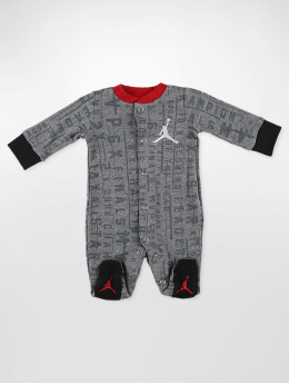 Jordan Jumpsuit AOP Vertical Footed grau