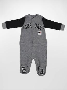 Jordan jumpsuit Footed grijs