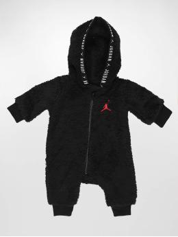 Jordan jumpsuit Sherpa Hooded zwart
