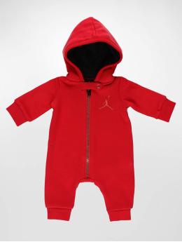 Jordan Jumpsuits Metal ManHooded czerwony