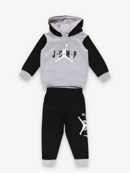Jordan Mjukiskläder Jumpman Sideline Pullover & Jogger svart