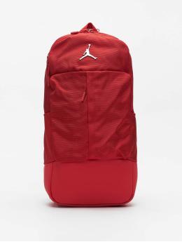 Jordan Plecaki Fluid czerwony