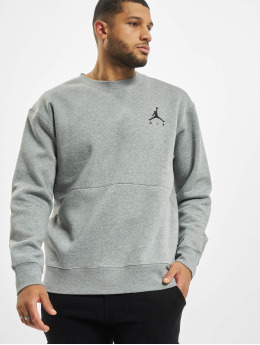 Jordan Pullover Air Fleece Crew grau
