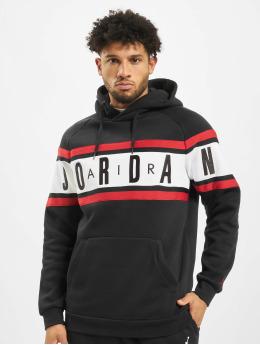 Jordan Pulóvre Air Fleece èierna