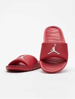 Jordan Sandals Break Slide red