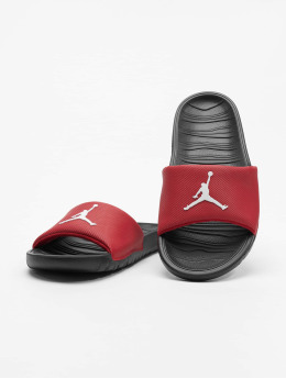 Jordan Sandals Break  red