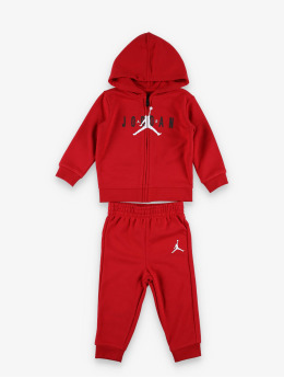 Jordan Sety Jumpman Air Full Zip èervená