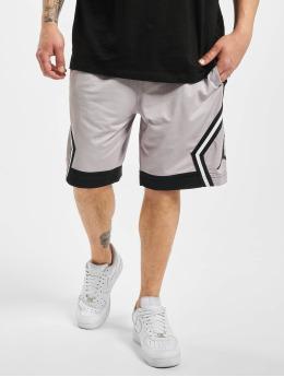 Jordan Shorts JM Diamond Striped grau
