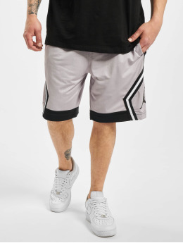 Jordan shorts JM Diamond Striped grijs