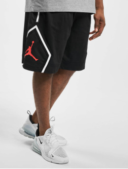 Jordan shorts JM Diamond Striped zwart