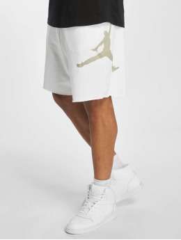 Jordan Shortsit Jumpman Logo Fleece valkoinen