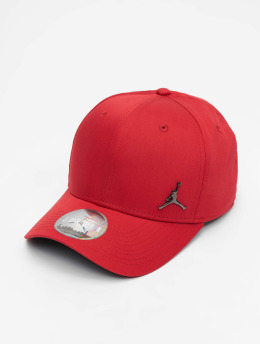 Jordan snapback cap Classic99 Metal Jumpman rood