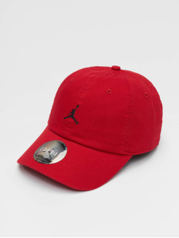 Jordan snapback cap H86 Jumpman Floppy rood