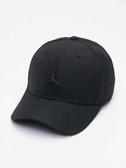 Jordan Snapback Caps CLC99 JM Metal čern