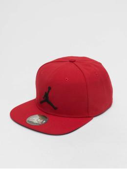 Jordan Snapback Caps Pro Jumpman červený
