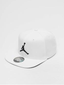Jordan Snapback Caps Pro Jumpman bílý