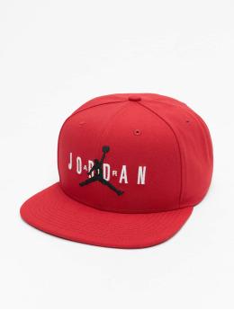 Jordan Snapback Caps JM Air HBR czerwony