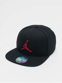 Jordan Snapback Caps Pro Jumpman musta