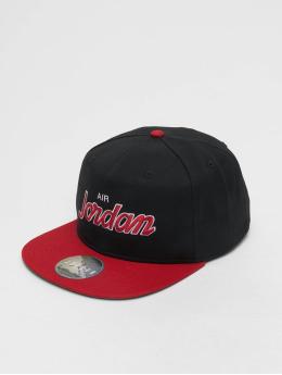 Jordan Snapback Caps Pro Script svart