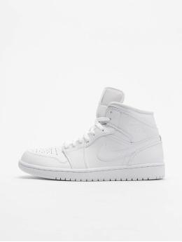 Jordan Sneaker Mid bianco