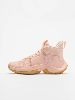 Jordan Sneaker Why Not Zer0.2 (GS) rosa chiaro