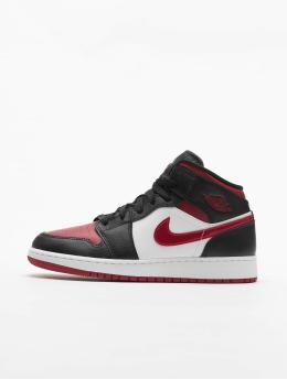 Jordan Sneaker 1 Mid (GS) schwarz
