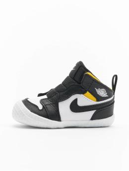 Jordan Sneaker 1 Crib Bootie  schwarz