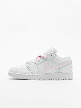 Jordan Kinder Sneaker 1 Low (GS) in weiß