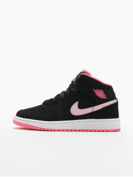 Jordan Sneakers Air Jordan 1 Mid (GS)  czarny