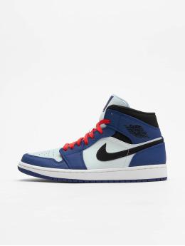 Jordan Snejkry Air 1 Mid Se modrý