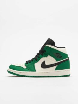 Jordan Snejkry Air 1 Mid Se zelený